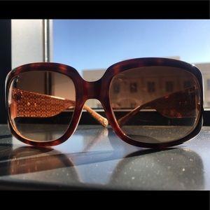 Women's Coach Sunglasses w/ Case